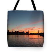 Boston Sunset Tote Bag