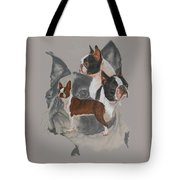 Boston Terrier Revamp Tote Bag