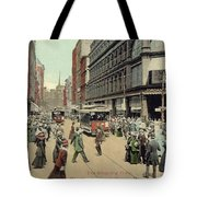 Boston: Washington Street Tote Bag