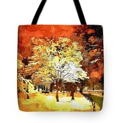 Boston Winter Tote Bag