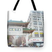 Boston's Chinatown  Tote Bag
