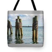 Boston's Harbor Tote Bag