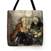 Boswell And Johnson, 1786 Tote Bag