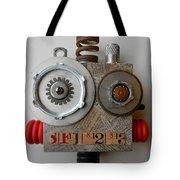 Bot Tote Bag by Jen Hardwick