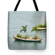 Botanic Garden On The Water Tote Bag