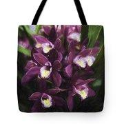 Botanic Garden Orchid Bouquet 5 Tote Bag