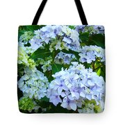 Botanical Art Prints Floral Hydrangea Flower Garden Baslee Tote Bag