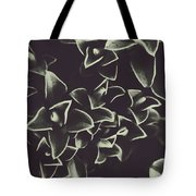 Botanical Blooms In Darkness Tote Bag