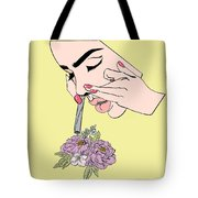 Botanical Drag Tote Bag