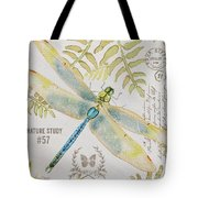 Botanical Dragonfly-jp3418b Tote Bag