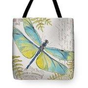 Botanical Dragonfly-jp3423b Tote Bag