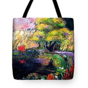 Botanical Garden In Lund Sweden Tote Bag