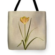 Botanical Tulip 2 Tote Bag