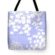 Botanicals Baby Blues Tote Bag