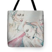 Both Sides Now Tote Bag