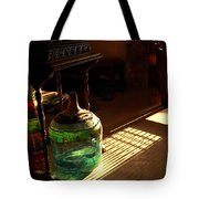 Bottle And Light Tote Bag