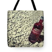 Bottle And The Beach  Tote Bag