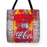 Bottle Of Coca-cola Tote Bag