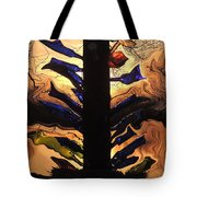 Bottle Tree Sunrise Tote Bag