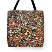 Bottlecap Alley Tote Bag