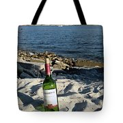 Bottled Beach Tote Bag