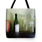 Bottles And A Coffee Can Tote Bag