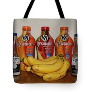 Bottles N Bananas Tote Bag