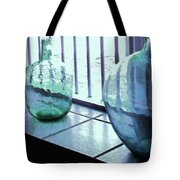 Bottles Still Life Tote Bag