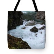 Bottom Of Silver Falls Tote Bag