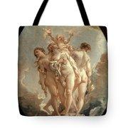 Boucher: Three Graces, 18 C Tote Bag