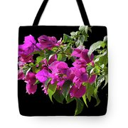 Bougainvillea Cutout Tote Bag