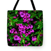 Bougainvillea Floral Print Tote Bag