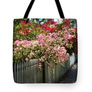 Bougainvillea In Old Eau Gallie Florida Tote Bag