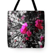 Bougainvillea Invasion Tote Bag