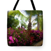Bougainvillea Magic Tote Bag