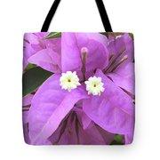 Bougainvillea Petals Tote Bag