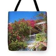 Bougainvillea Villa Tote Bag