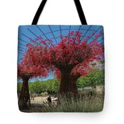 Bougainvilleas Tree Scultures Tote Bag