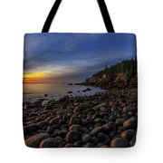 Boulder Beach Sunrise Tote Bag
