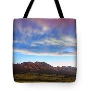 Boulder Colorado Dreaming Tote Bag