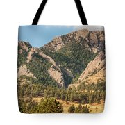 Boulder Colorado Rocky Mountain Foothills Tote Bag
