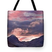 Boulder County Colorado Indian Peaks At Sunset Tote Bag by James BO  Insogna
