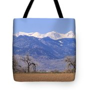 Boulder County Colorado Panorama Tote Bag