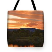 Boulder County Lake Sunset Vertical Image 06.26.2010 Tote Bag