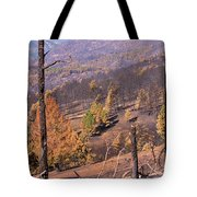 Boulder County Wildfire 5 Miles West Of Downtown Boulder Tote Bag