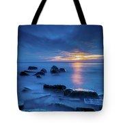 Boulder Point Sunrise Tote Bag