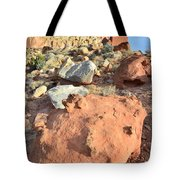 Boulders Above Camprground Tote Bag