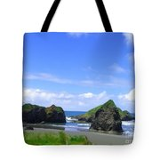 Boulders In Oregon Tote Bag