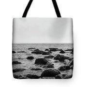 Boulders In The Ocean Tote Bag