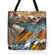Boulders In The River Tote Bag